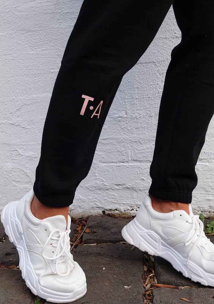 Terri Track Pants - Black