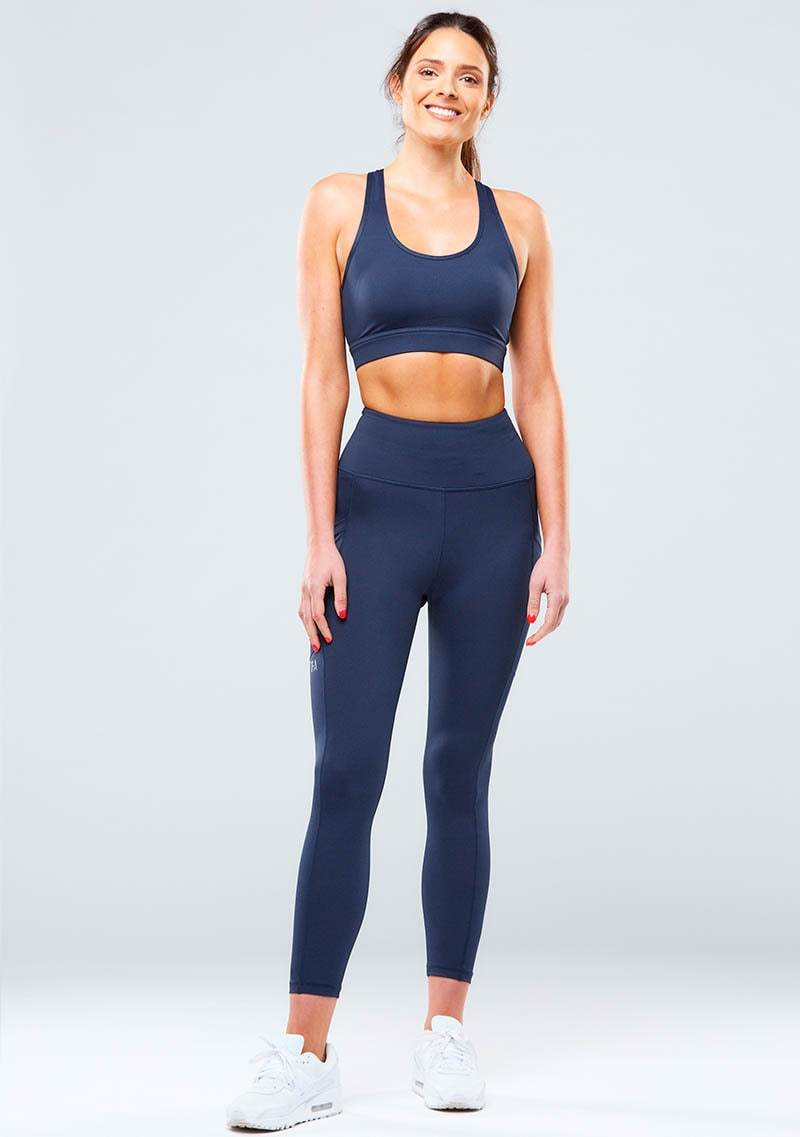 Eva Leggings - Navy