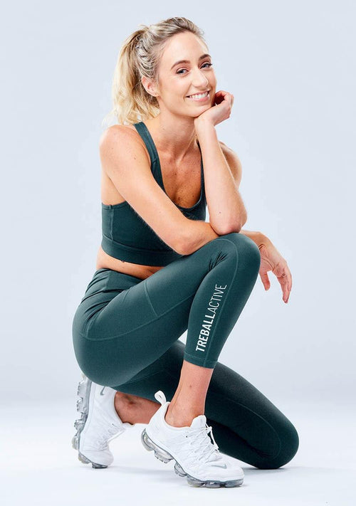 Cleo Leggings - Green