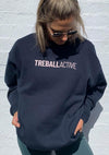Joey Oversized Jumper - Navy