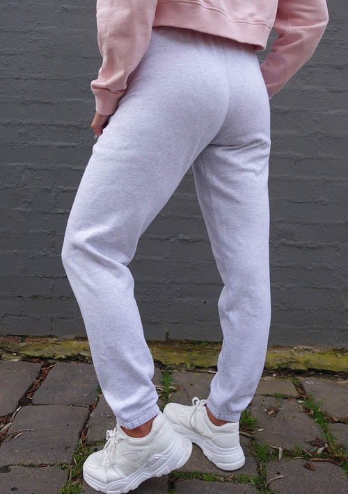 Terri Track Pants - Light Grey