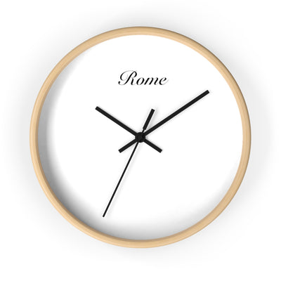 Rome City Name Wall clock