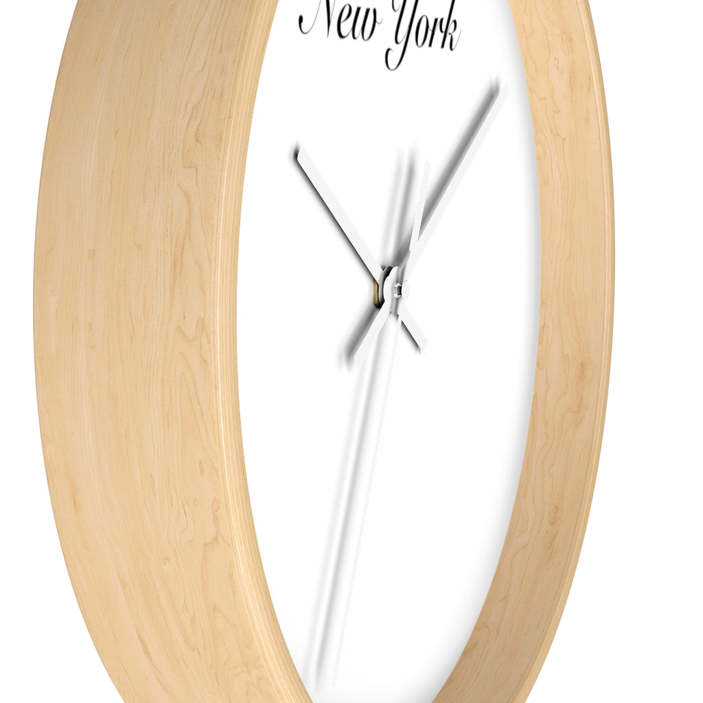 New York City Name Wall clock