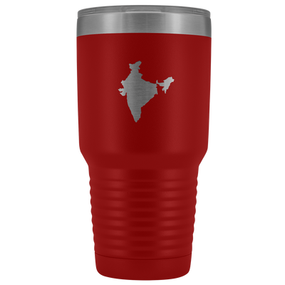 Indian Map stainless steel vacuum insulated hot and cold beverage container