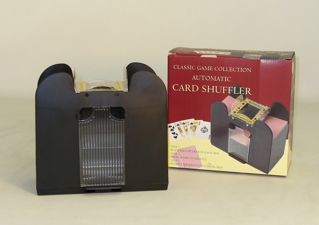 6-Deck Battery Card Shuffler