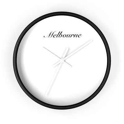 Melbourne City Name Wall clock