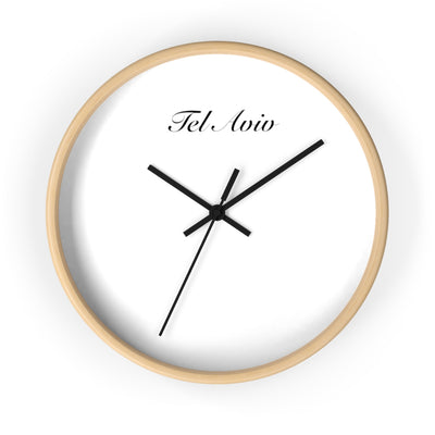 Tel Aviv City Name Wall clock