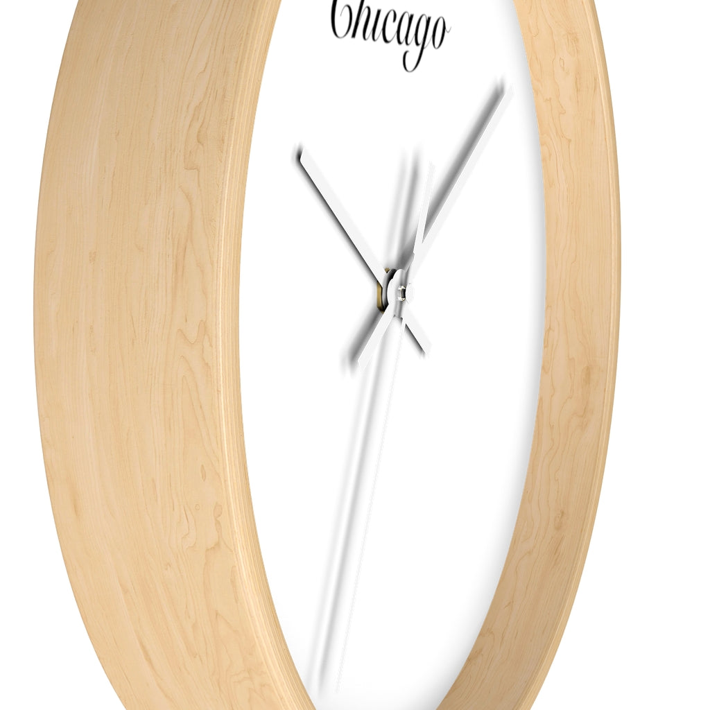 Chicago City Name Wall clock