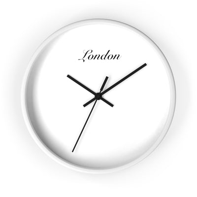 London City Name Wall clock
