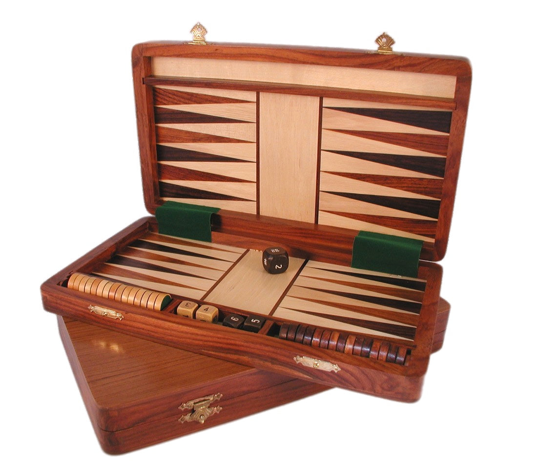 Wood Magnetic Backgammon