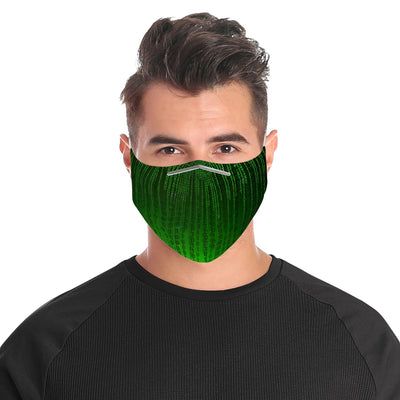 Matrix Cloth Face Mask For Adults