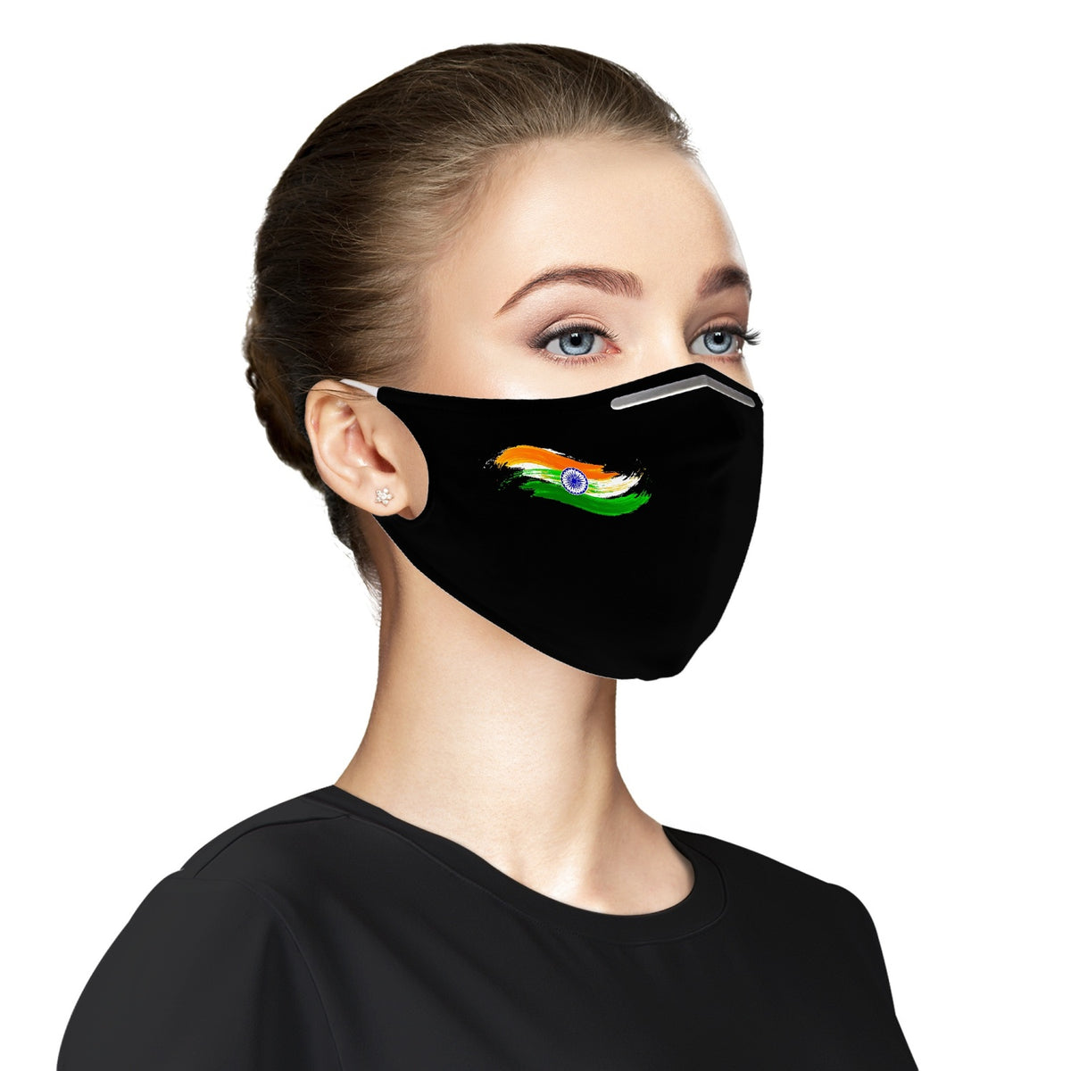 Indian Flag  Cloth Face Mask For Adults
