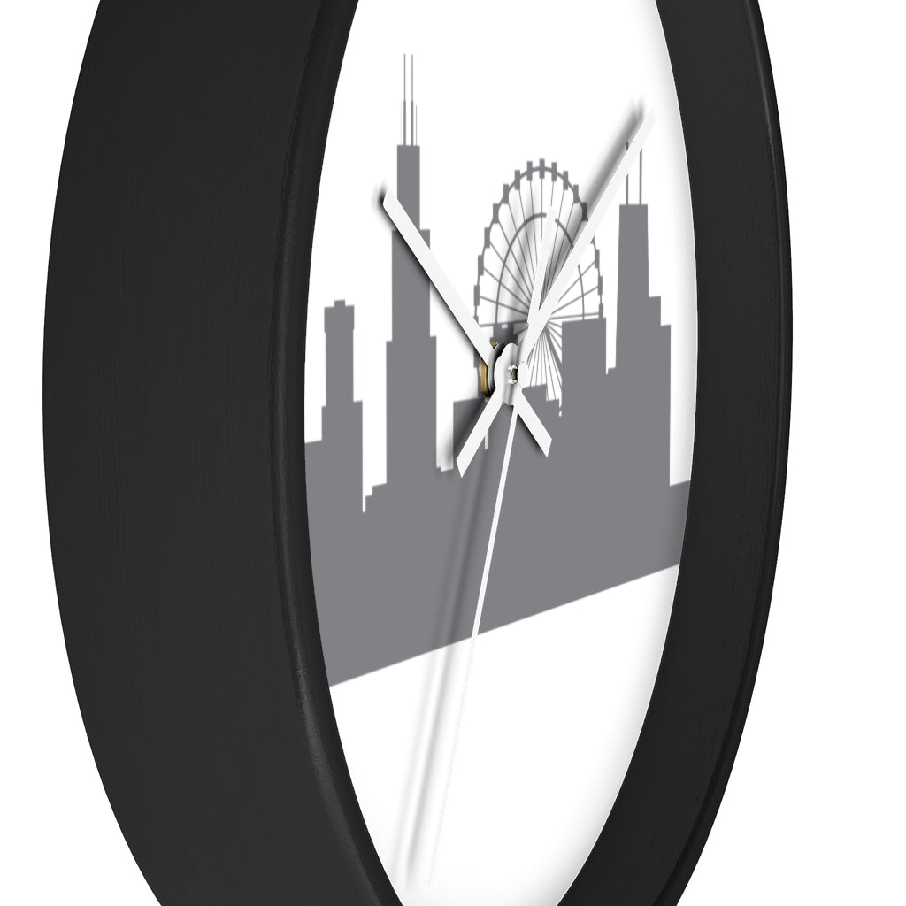 Chicago City Skyline Wall clock