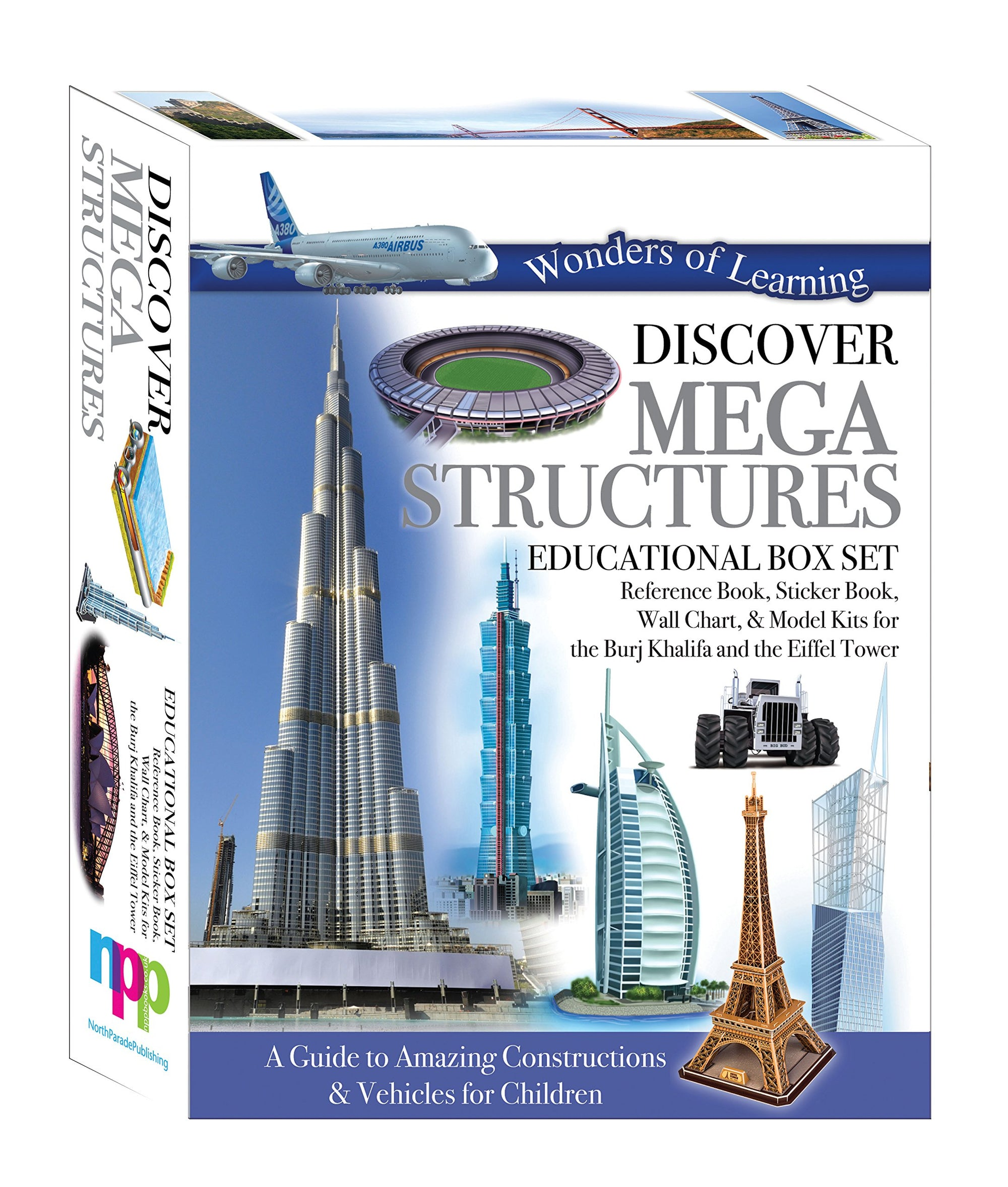 Discover Mega Structures - Educational Box Set (Wonder of Learning)
