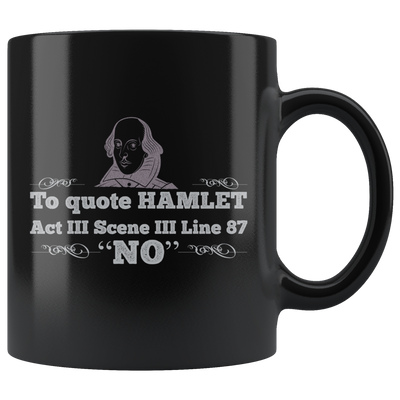 The Shakespeare Mug