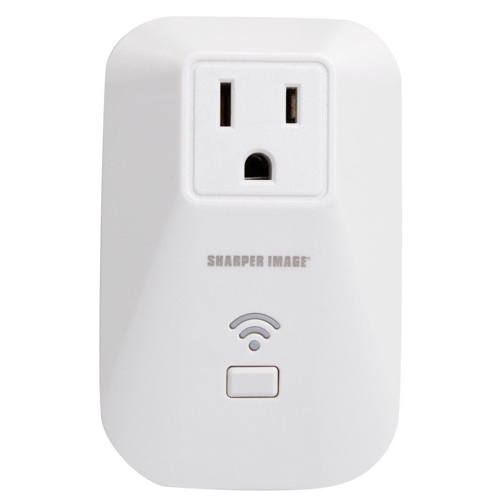 Sharper Image Wi-Fi Socket Outlet Wireless Smartphone iPhone Android