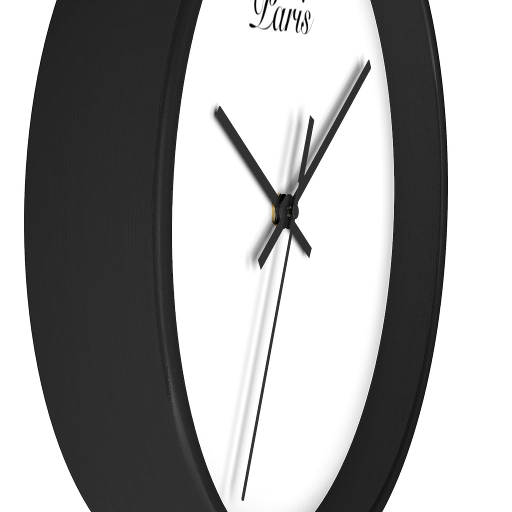 Paris City Name Wall clock