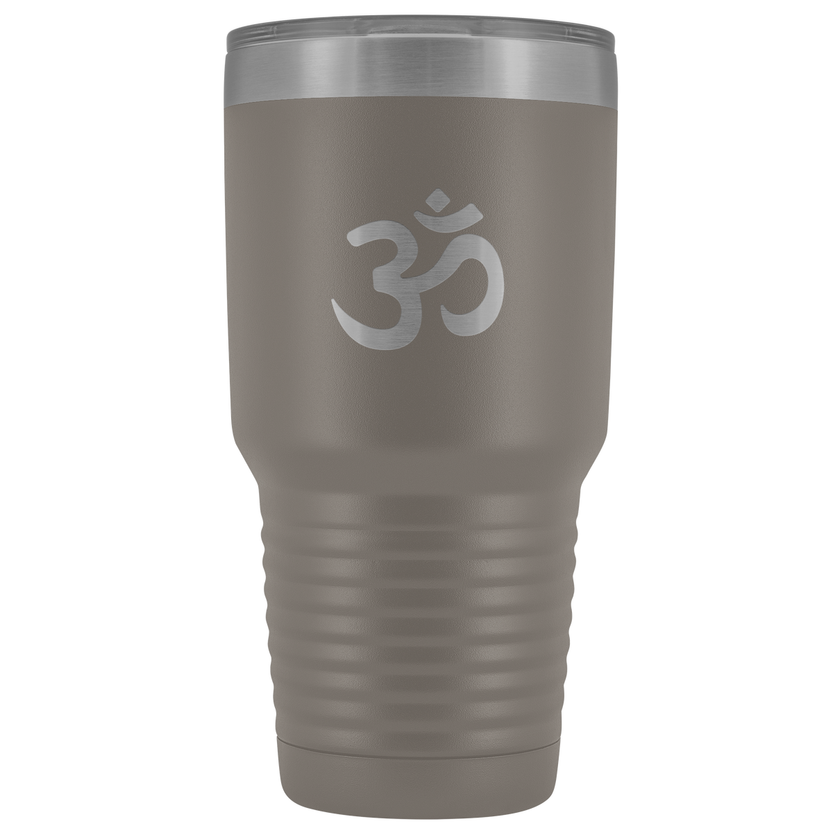 Laser etched Hindi / Sanskrit Om Symbol 30 Ounce stainless steel Vacuum insulated Tumbler