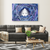 The energy field of Shiva - Rectangle Gallery Canvas  Art