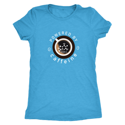 Powered by Caffeine - Triblend T-Shirt