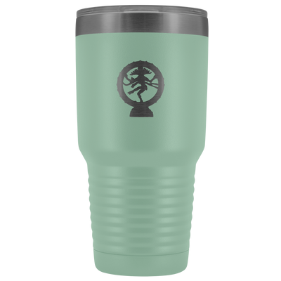 The dance of Shiva stainless steel vacuum insulated hot and cold beverage container