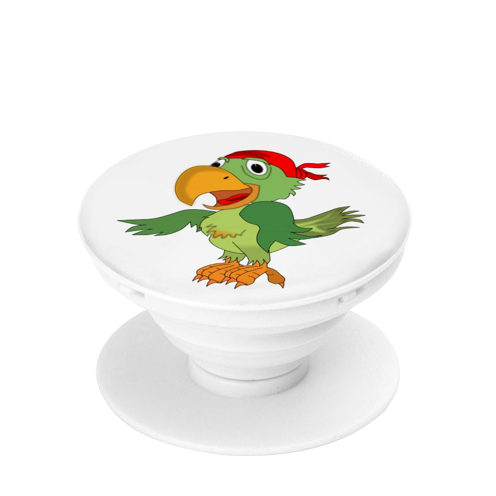Pirate Parrot with bandana - Phone Grip