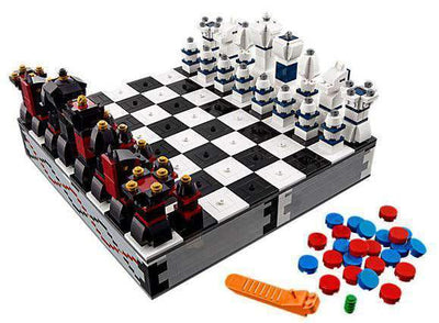 Build Your Own Lego Chess and Checkers Set