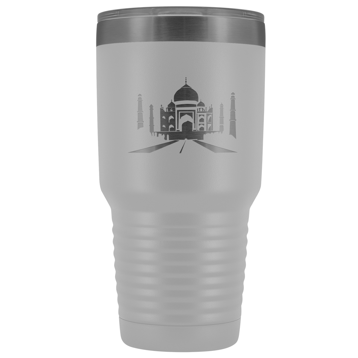 Taj Mahal stainless steel vacuum insulated hot and cold beverage container