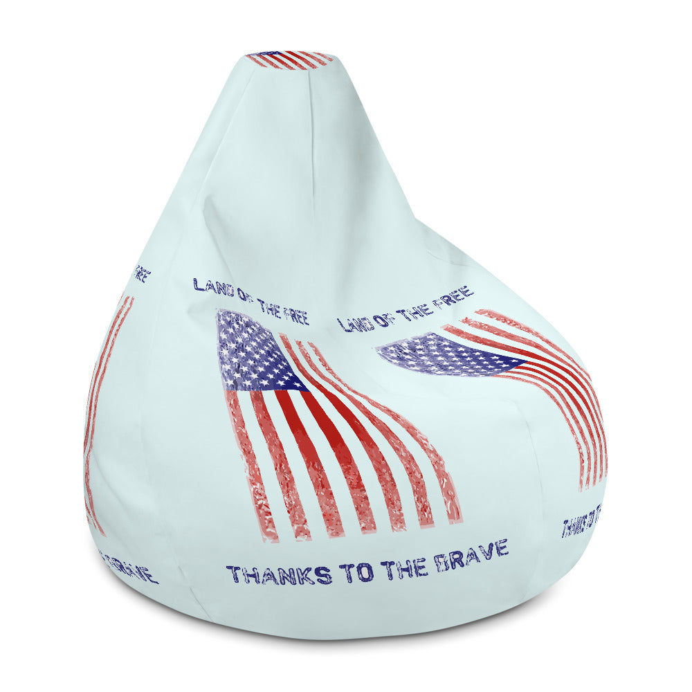 Land of the free, thanks to the brave Bean Bag Chair w/ filling