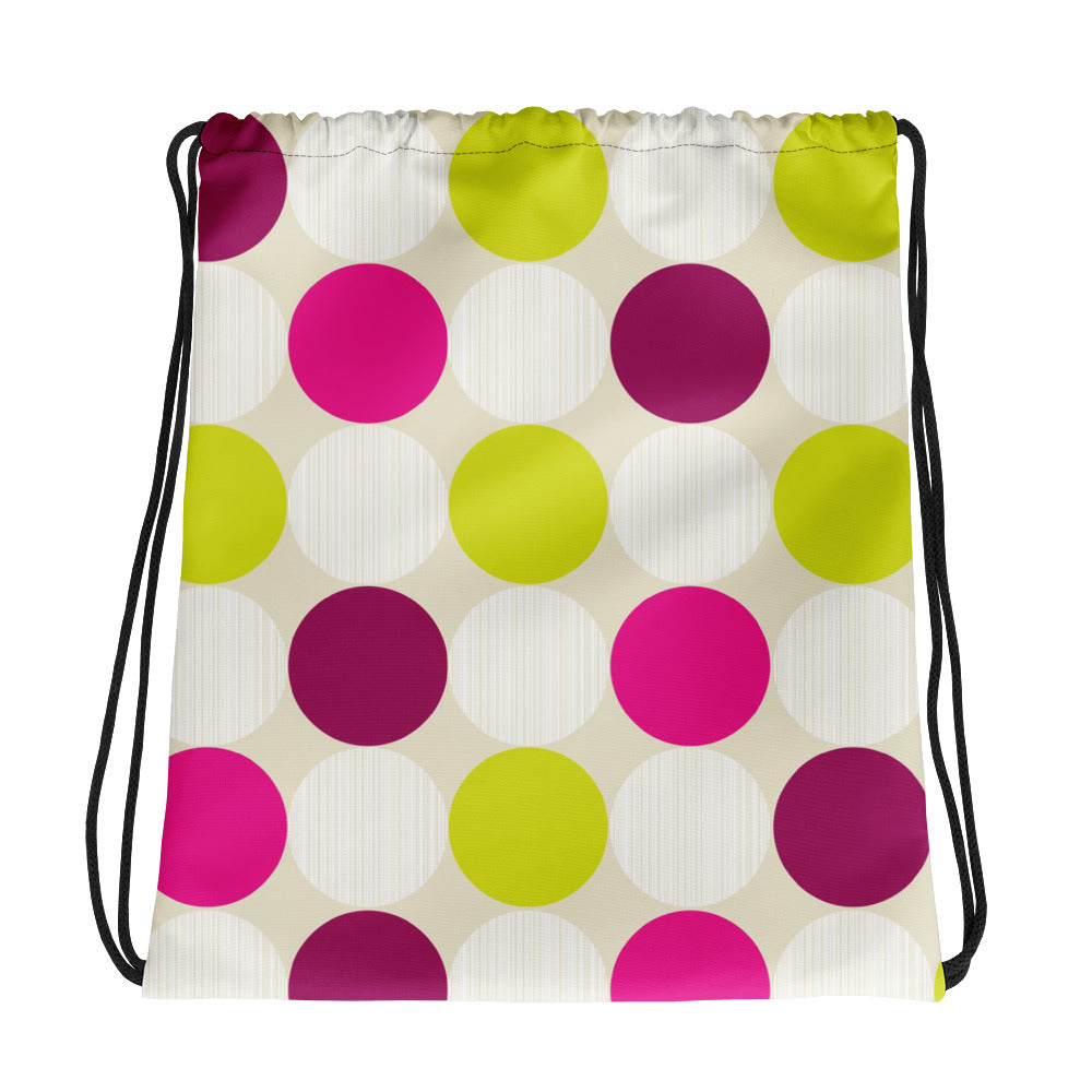 Polka Dots Drawstring bag