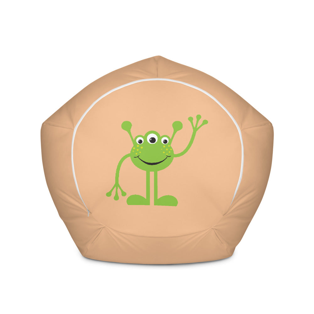 Your friendly neighborhood alien Bean Bag Chair w/ filling