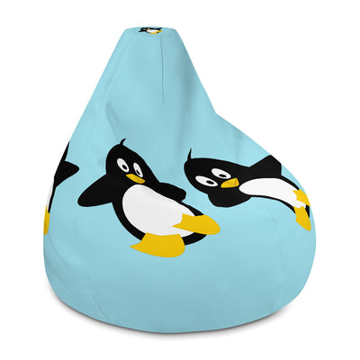 The cutest penguin in the world Bean Bag Chair w/ filling