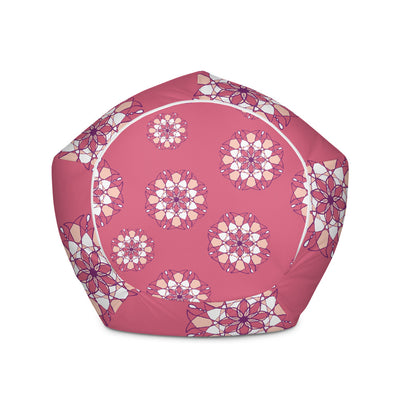 Pink Kaleidoscope Bean Bag Chair w/ filling