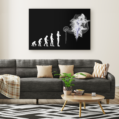 Evolution Rectangle Gallery Canvas wall art