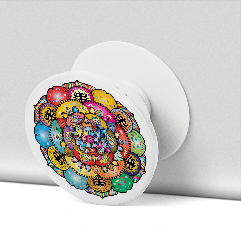 Colorful Mandala Phone Grip