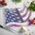 USA Flag - Glass cutting board