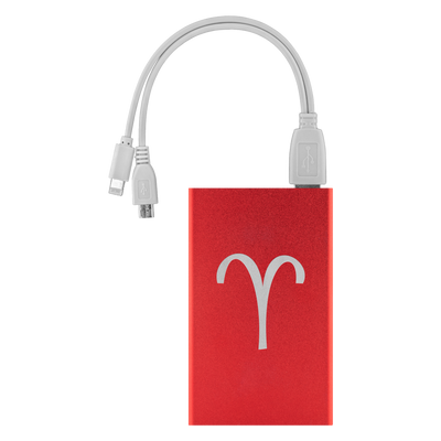 Zodiac Aries Power Bank