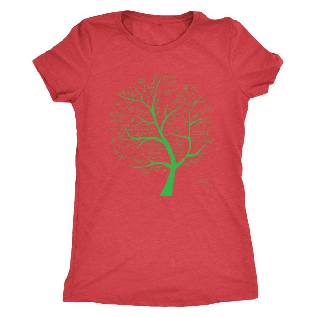 Math formulae tree - Triblend T-Shirt