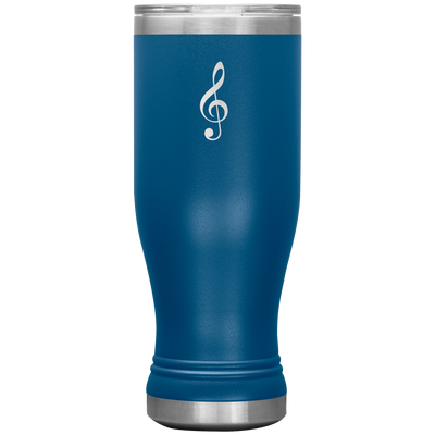 Treble Clef - stainless steel vacuum insulated 20oz Tumbler