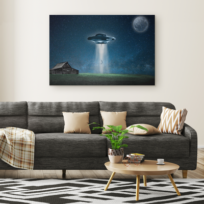 Onward to the stars Rectangle Gallery Canvas wall art