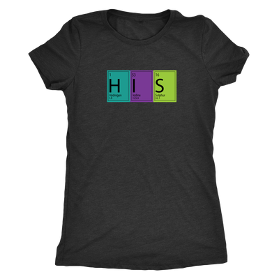 His and Hers Periodic Table Combo Triblend T-Shirts