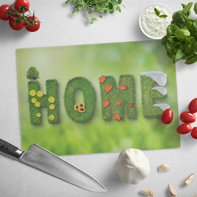 Home - Glass cutting board