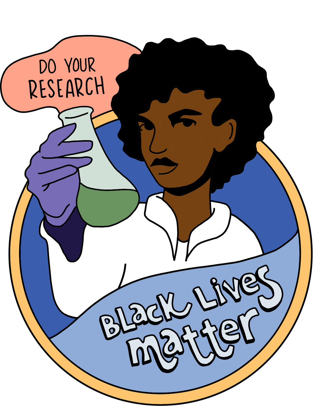 Black Lives Matter - Do Your Research T-Shirt