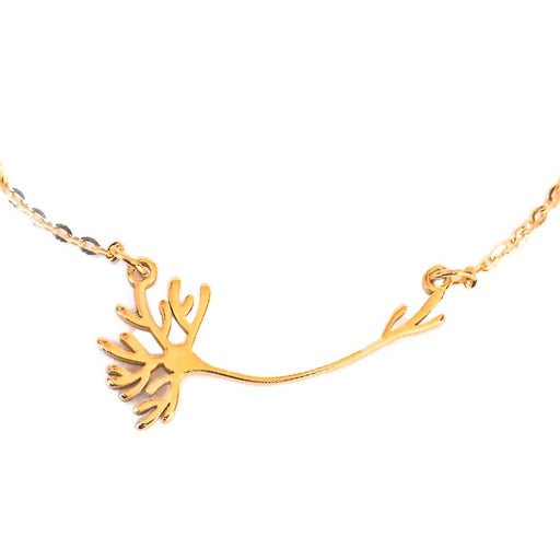 Neuron Necklace - Gold