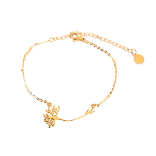 Neuron Bracelet - Gold