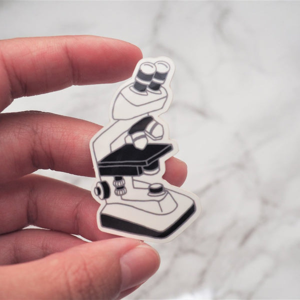 Microscope Sticker
