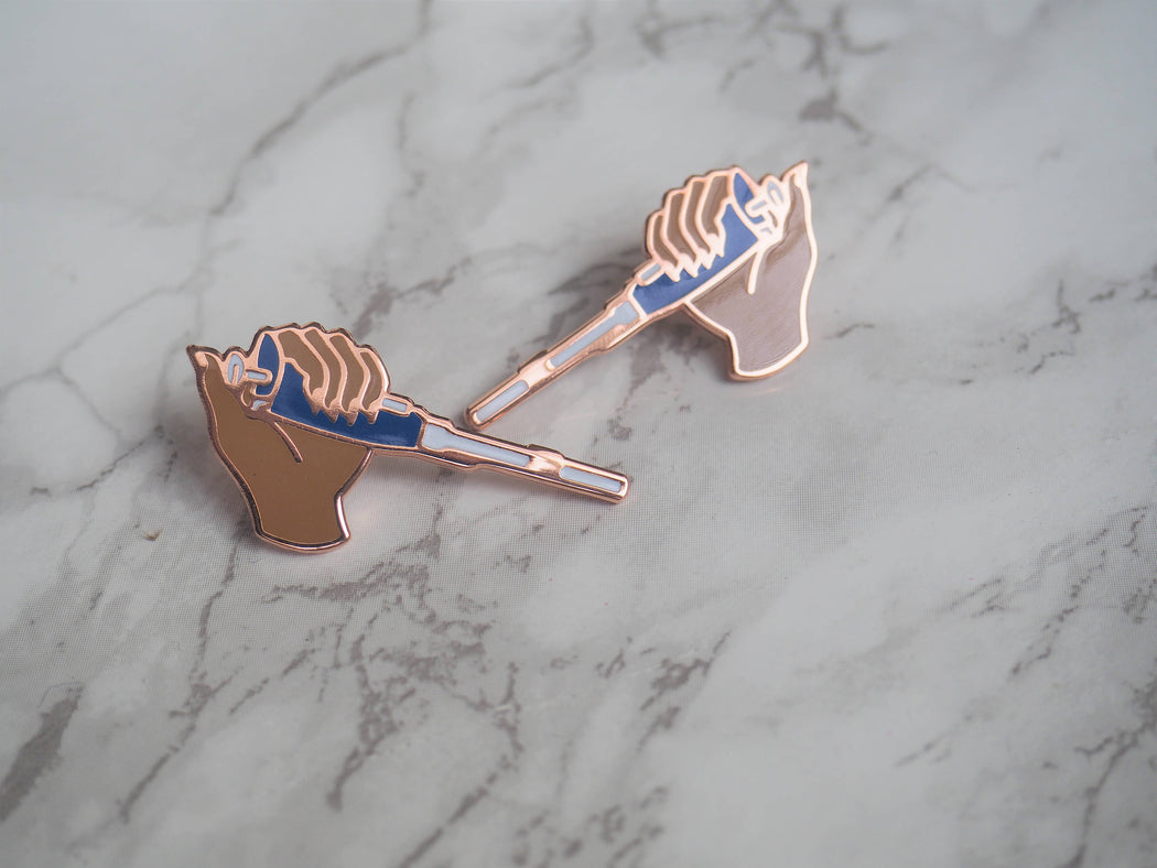 2 pin set - Brown Pipette Pins
