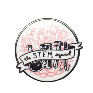 The STEM Squad Enamel Pin