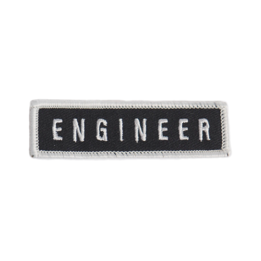 Engineer Patch - Black