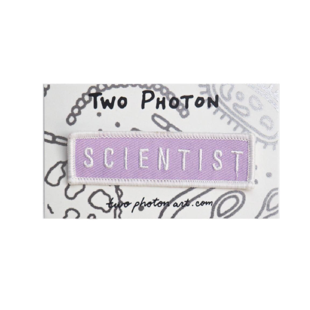 Scientist Patch - Lavender